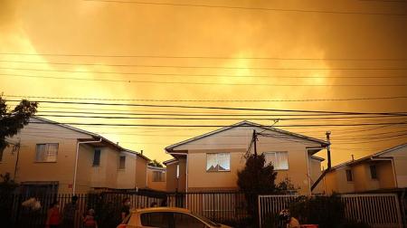 Oración por incendios en Quilpué y Valparaíso