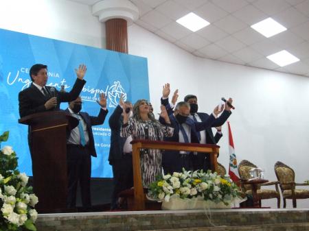 Ceremonia de Ungimiento Obispo Presidente y Diaconisa
