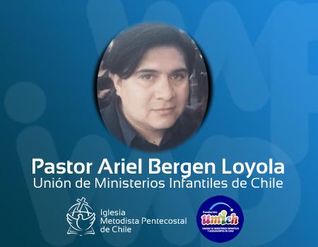 Pastor Ariel Bergen a la presencia del Señor