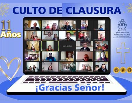 """11° Aniversario Iglesia Los Ángeles - Galilea: """"Permaneciendo Conectados con Cristo"""""""