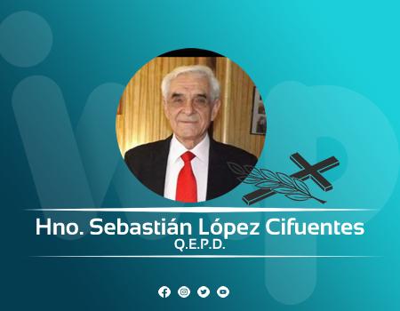 Hno Sebastían López Cifuentes a la presencia del Señor